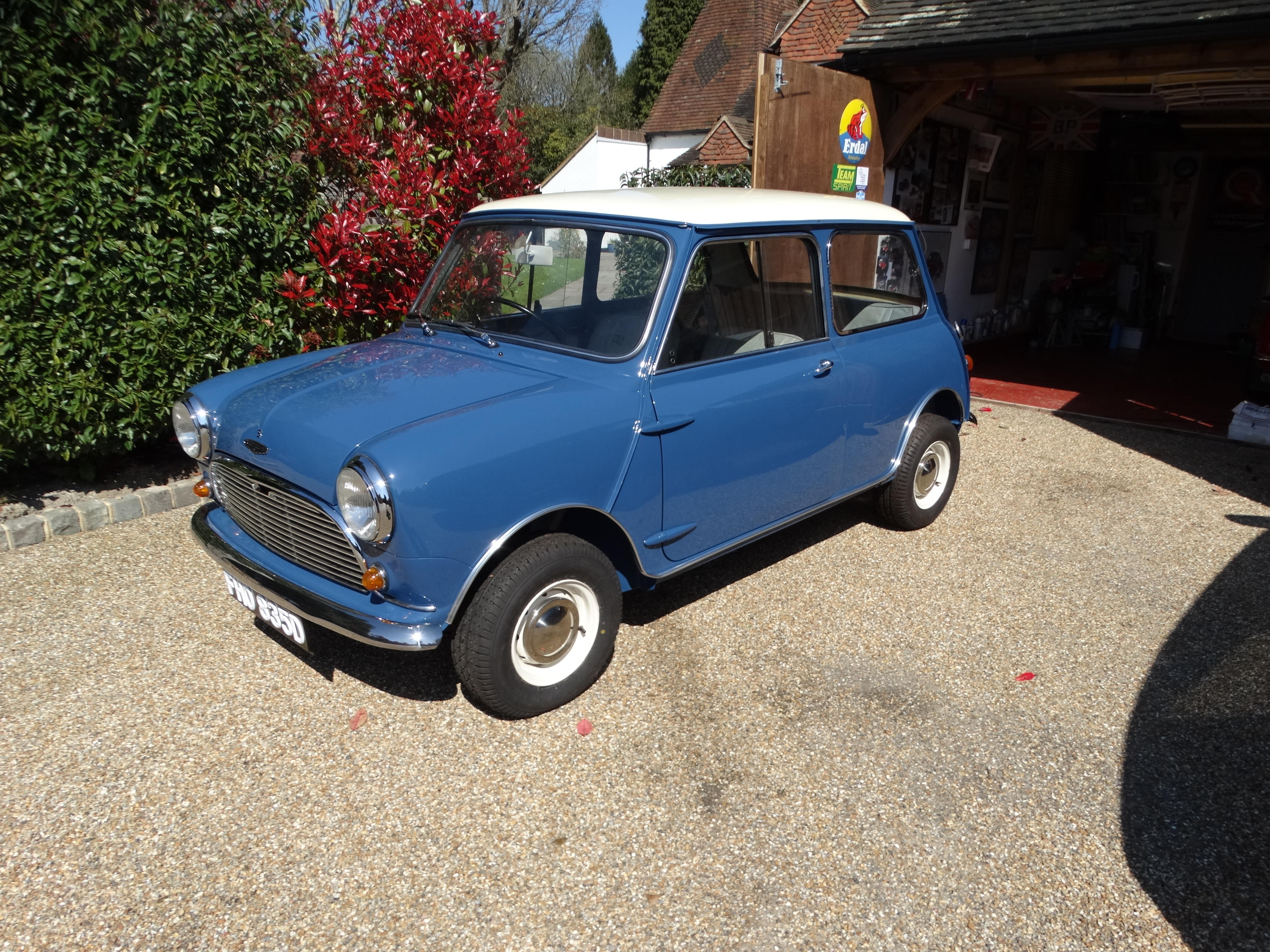 1966  Austin 1275 Cooper 'S'  Chassis no. C-A2S7/851702