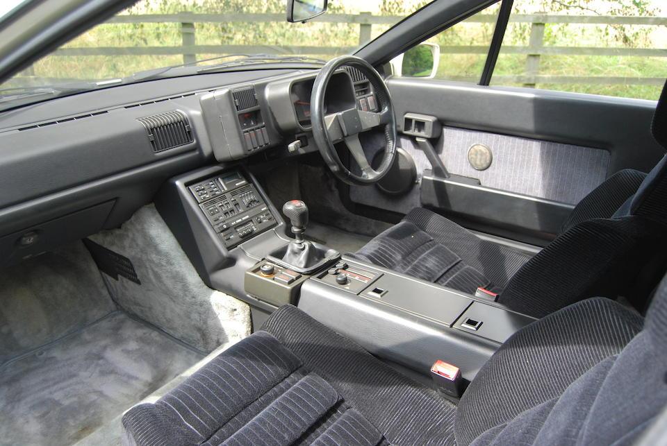 1987 Renault Alpine GTA V6 Turbo  Chassis no. VF1D5000500040091