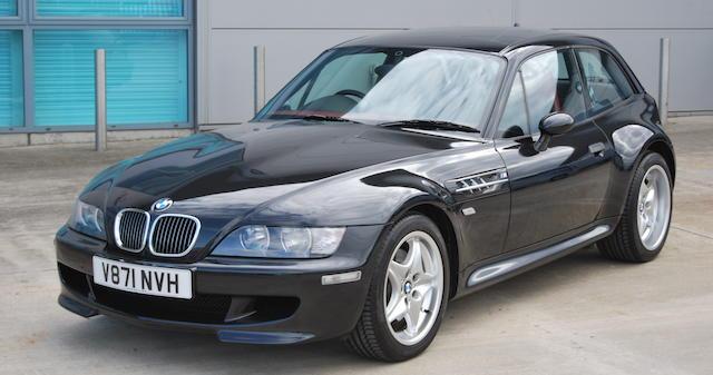 2000 BMW Z3M Coupé  Chassis no. WBSCM92040LB29677