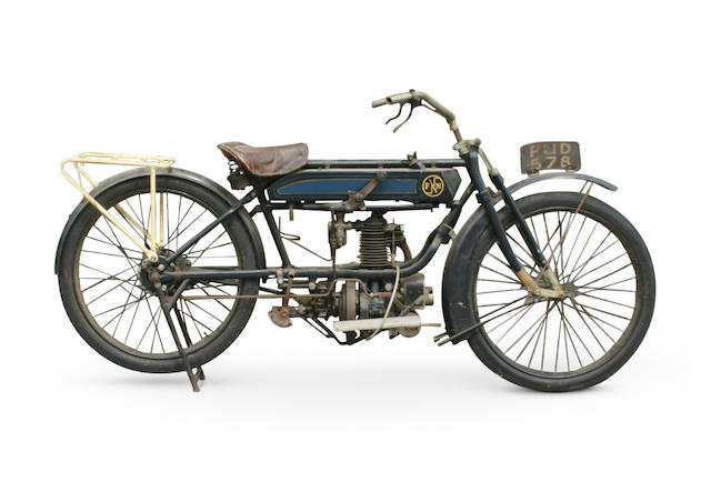 Property of a deceased's estate, c.1920 FN 285cc Model 285 Single Project Frame no. 60532T Engine no. 1292