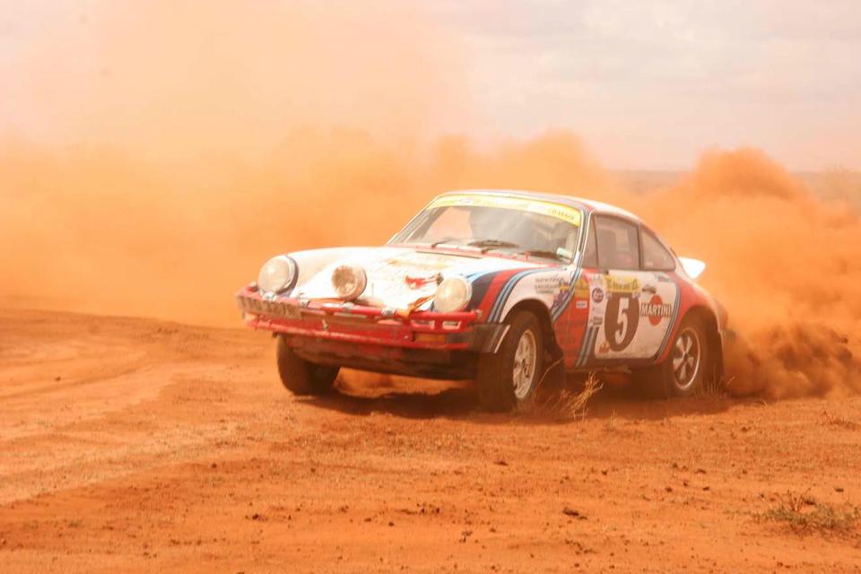 The ex-Sobislav Zasada/Bjorn Waldegaard; 1977 and 2004 London Sydney Marathon; 2005 East African Classic Safari Rally,1976 Porsche 911 Carrera 3.0-Litre Rally Car  Chassis no. 9117600881