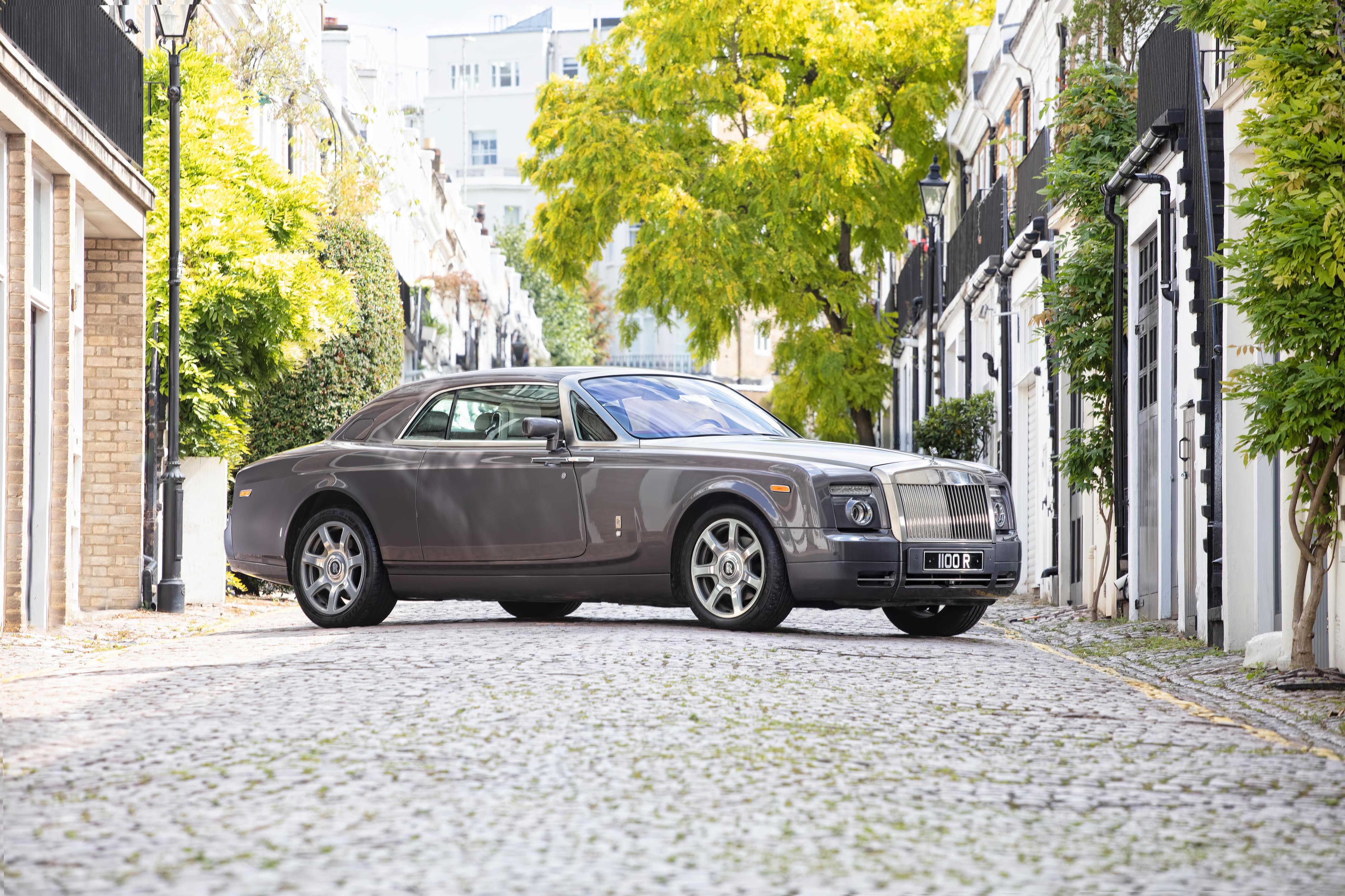 2010 Rolls-Royce Phantom Coupé  Chassis no. SCA3C68059UX29149