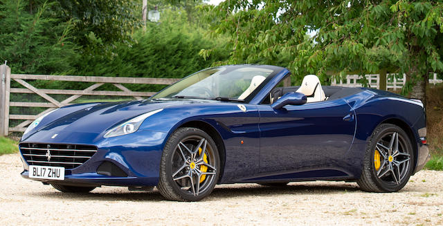 Offered from the estate of the late Peter Phillips,2017 Ferrari California T Hardtop Convertible  Chassis no. ZFF77XJC000227728