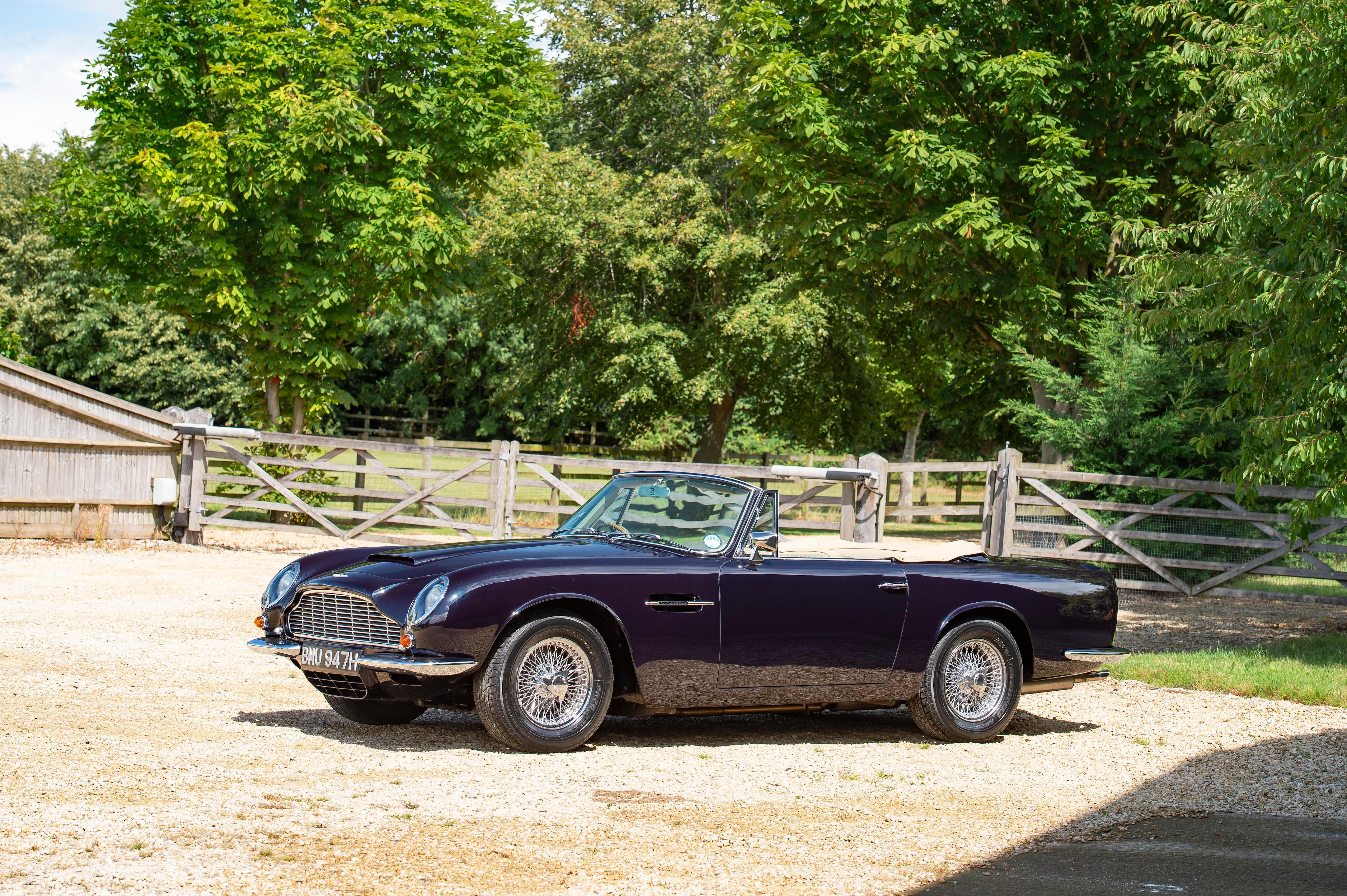 1970 Aston Martin DB6 MkII Volante