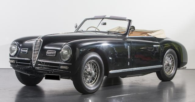 1949 Alfa Romeo 6C 2500 SS Cabriolet  Chassis no. 915.756