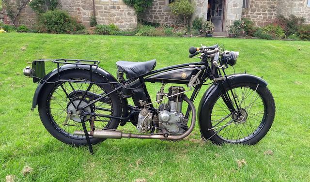 1925 OK-Bradshaw 350cc Sports Frame no. 7173 Engine no. 4003