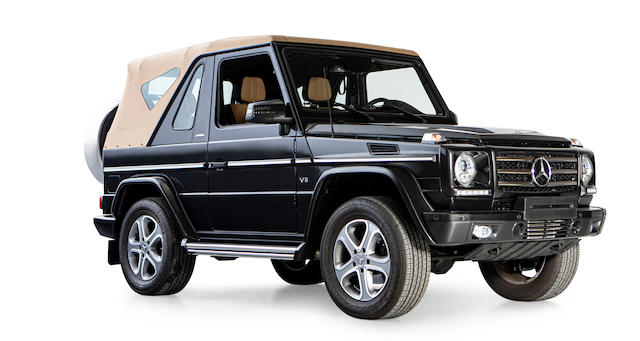 2013 Mercedes-Benz G 500 Cabriolet Final Edition  Chassis no. WDB 463 202 1X21 5820