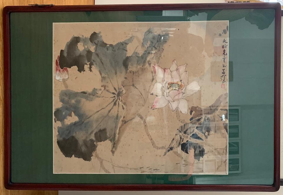 Yang Shanshen (1913-2004) Lotus