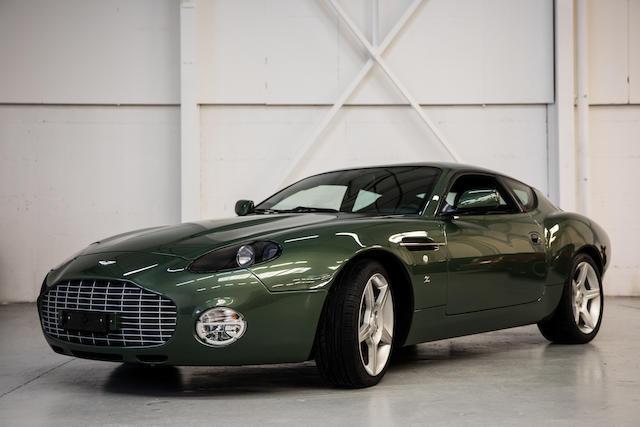 2003 Aston Martin Db7 Zagato Coupé Auktionen Preisarchiv