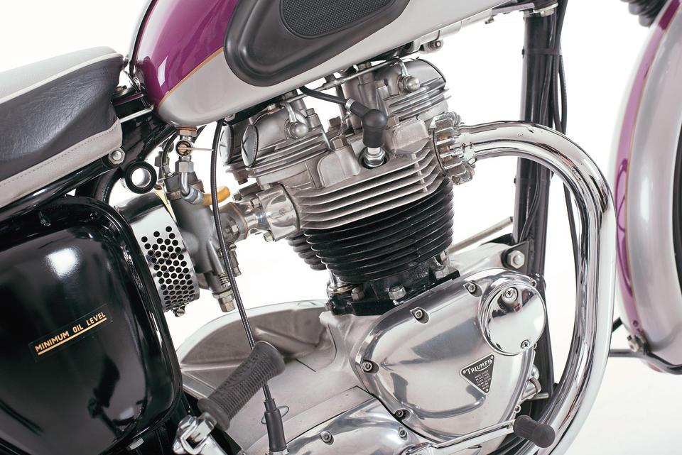 1963 Triumph 649cc TR6 SS Trophy Frame no. DU4788 Engine no. DU4788