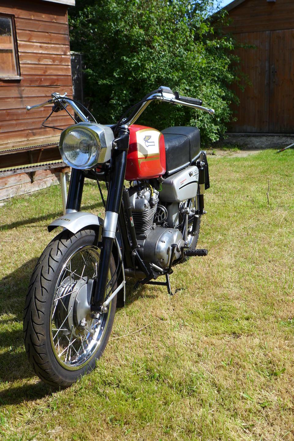 1967 Ducati 160cc Monza Junior Frame no. DM160 21228 Engine no. DM160 21228