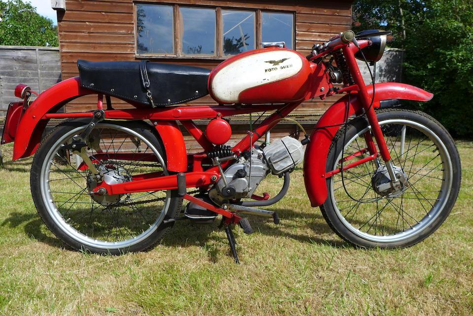 1959 Moto Guzzi 73cc Cardellino Lusso Frame no. BZC 39 Engine no. BZC 39