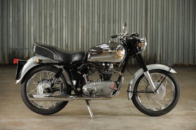 1961 Royal Enfield 248cc Crusader Sports Frame no. 19189 Engine no. SR9869