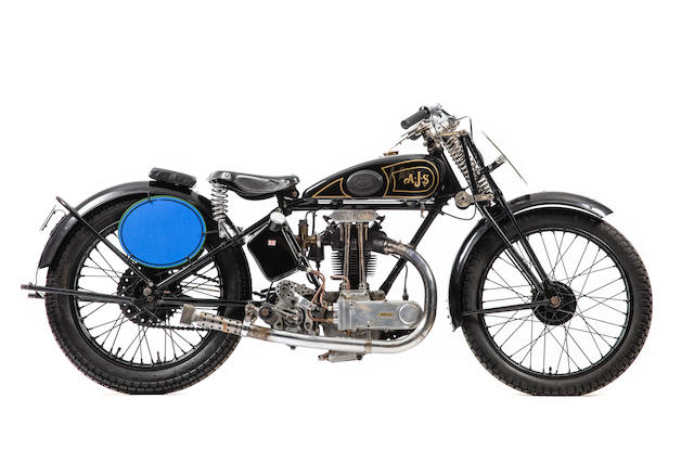 c.1929 AJS 349cc Model M12/M6 'Big Port' Special (see text) Frame no. none visible Engine no. M6 104562
