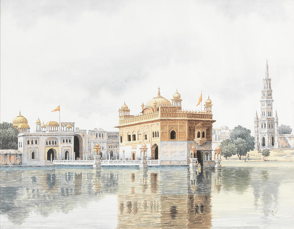 The Golden Temple at Amritsar 20th Century