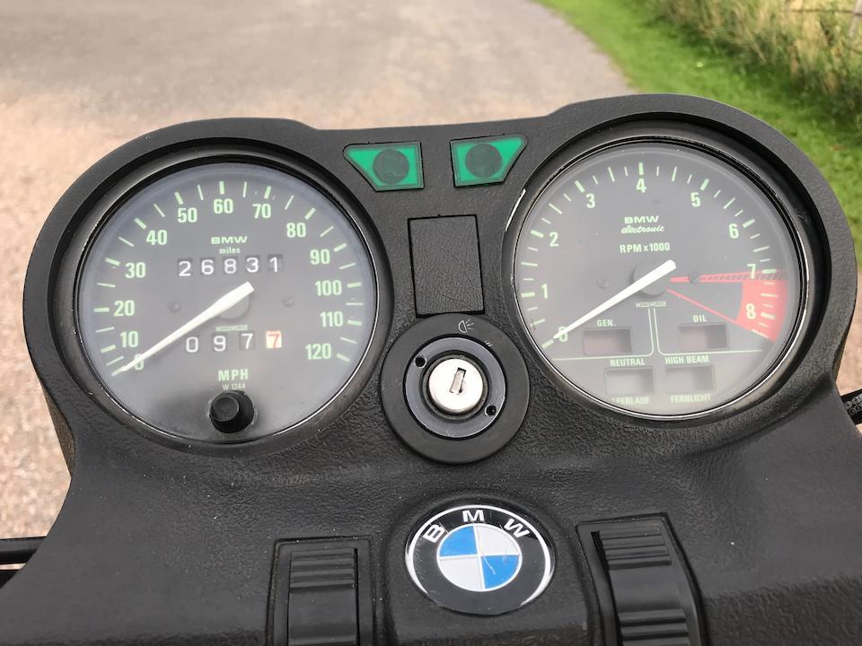 1984 BMW 798cc R80ST Frame no. 6056379 Engine no. 6056379