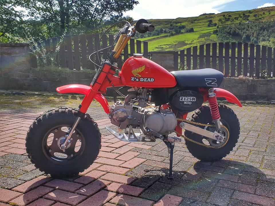 1983 Honda 125cc Z50R 'Z's Dead' Frame no. JH2AB0202 DS400977 Engine no. none