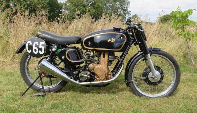 c.1949 AJS 7R 350cc Racing Motorcycle Frame no. 1323 Engine no. 48/7R 510