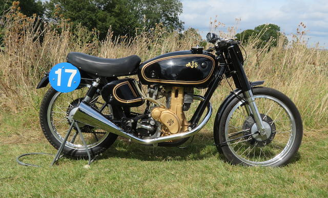 1949 AJS 7R 350cc Racing Motorcycle Frame no. 122 Engine no. 49/7R 592