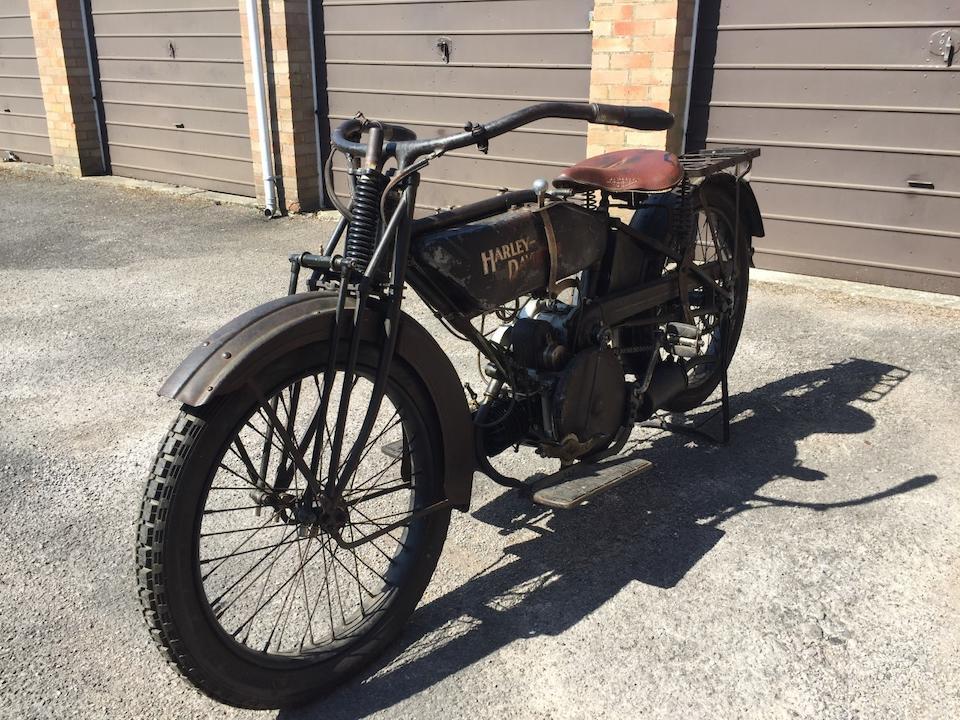 1923 Harley-Davidson 584cc Model WF Sport Twin Frame no. n/a Engine no. 23WF1743