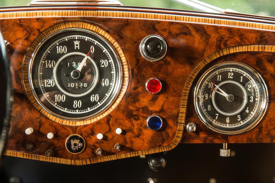 1938  Horch 853A Sportcabriolet  Chassis no. 854126 Engine no. 851320