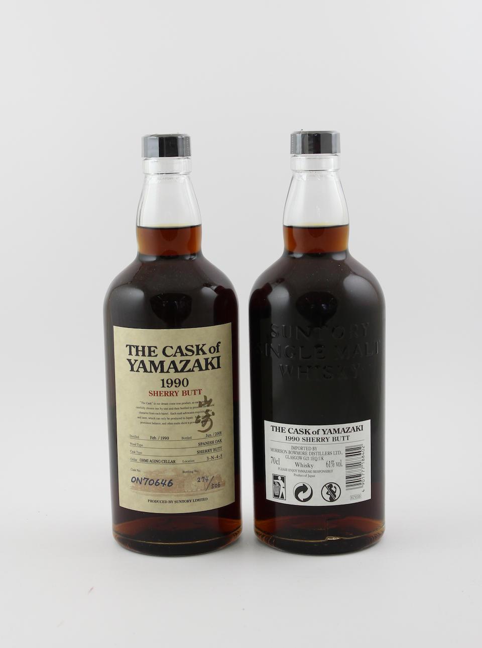 The Cask of Yamazaki-1990 (2)