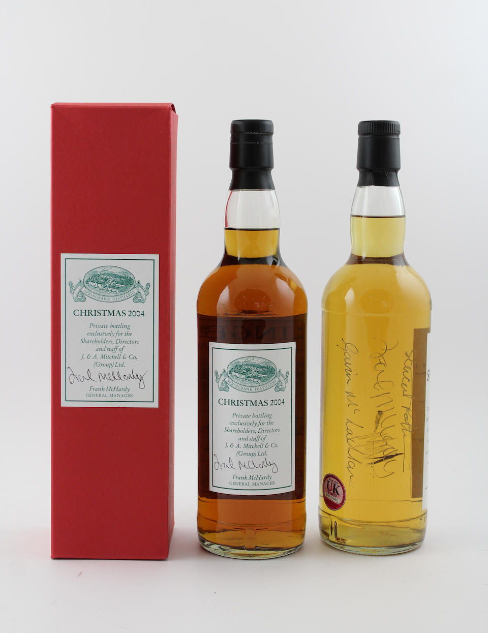 Springbank Christmas-2004-8 year old Springbank-10 year old-1999