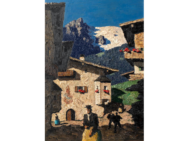 ALFONS WALDE (1891-1958) Bergsommer (Painted in 1937)