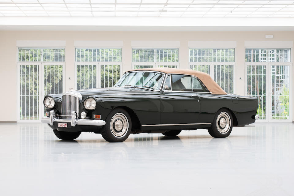 First owned by Eddie Fisher, former husband of Elizabeth Taylor,1962 Bentley S3 Continental Drophead Coupé  Chassis no. BC8LXA Engine no. S2657
