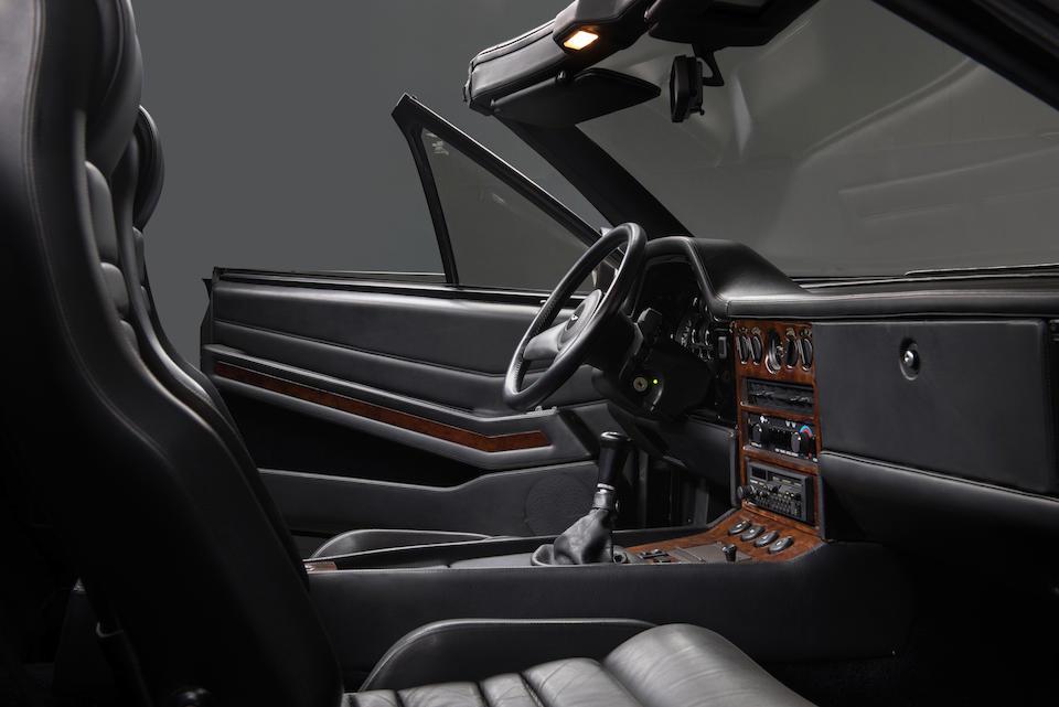 1989 Aston Martin V8 Zagato Volante Convertible  Chassis no. SCFCV81Z1JTL30029 Engine no. V/585/0029