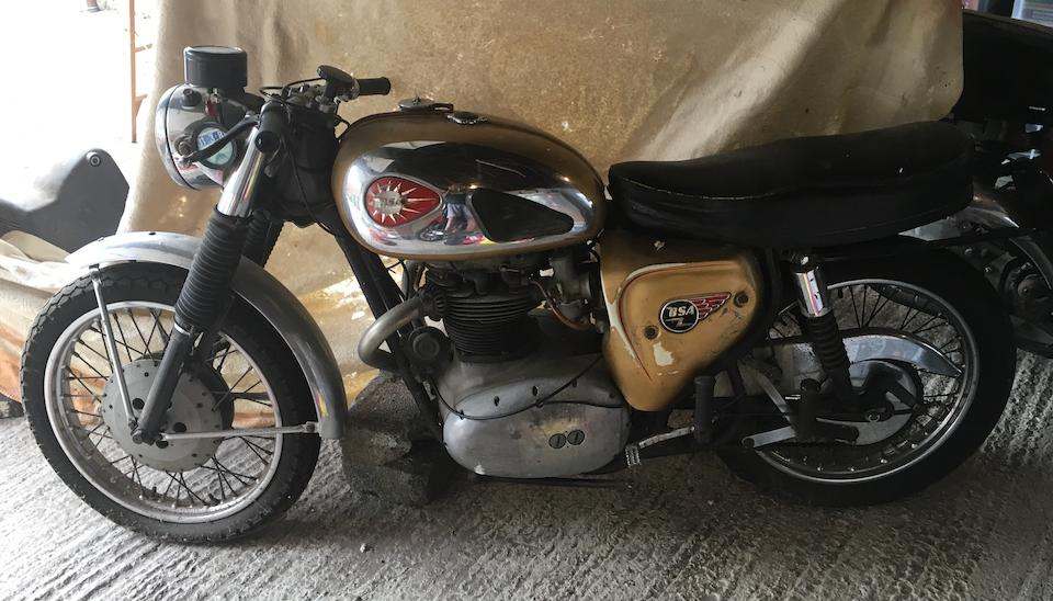 Property of a deceased's estate, 1965 BSA 650cc A65 Lightning Clubman Frame no. A50BU 6193 Engine no. A65DC 3369