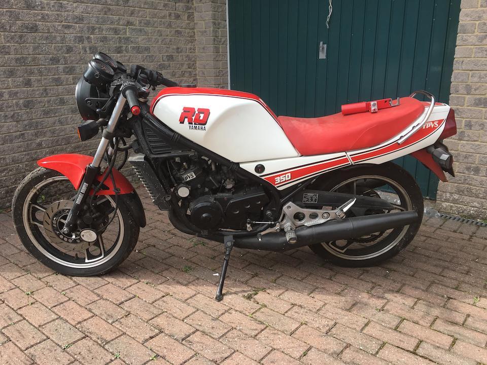 Property of a deceased's estate,1985 Yamaha RD350N Frame no. 31K 077258 Engine no. 31K 077258