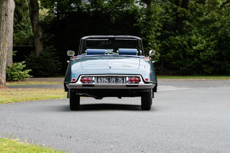 1968 Citroën DS21 Décapotable  Chassis no. 4609606 Engine no. 0318007358