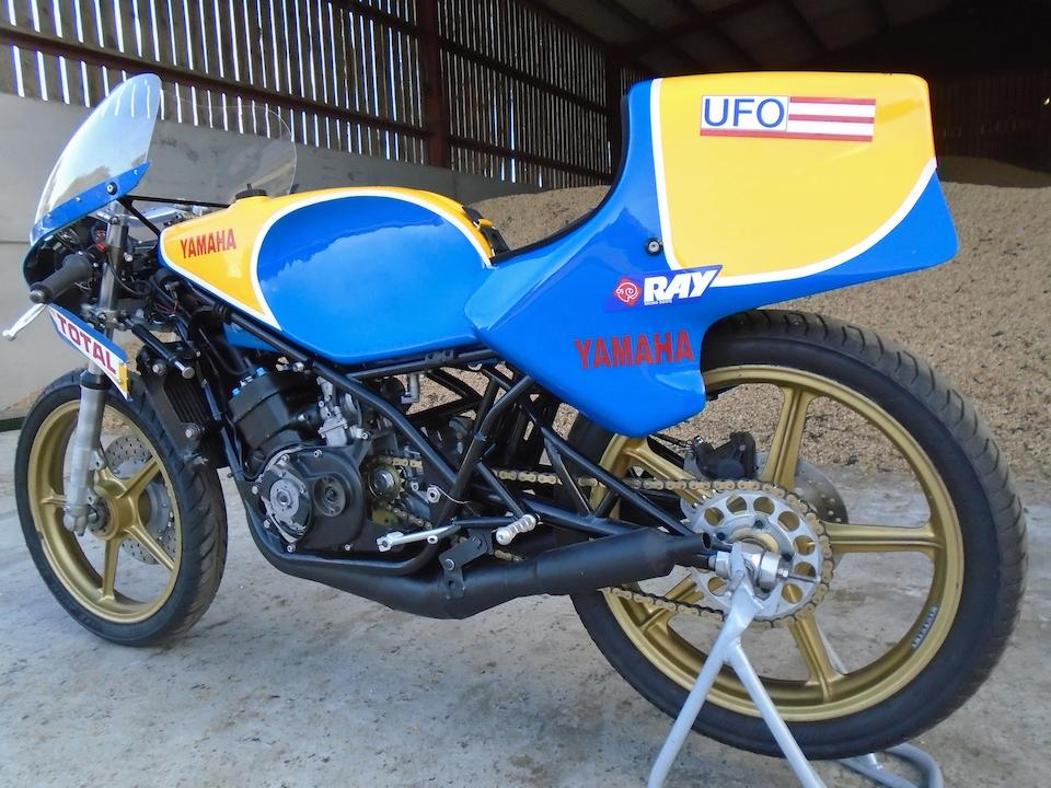 The ex-Patrick Fernandez, 1977 Yamaha TZ250 'Rob North' Racing Motorcycle Frame no. n/a Engine no. none (crankcases replaced)