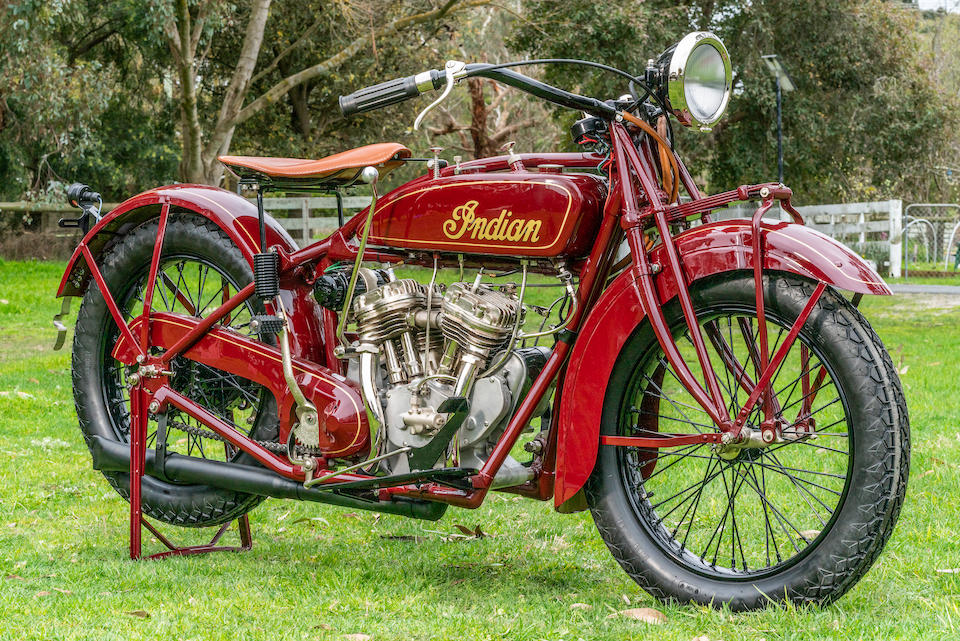 1928 Indian 750cc Scout 'Police Special' Frame no. n/a Engine no. CGP917