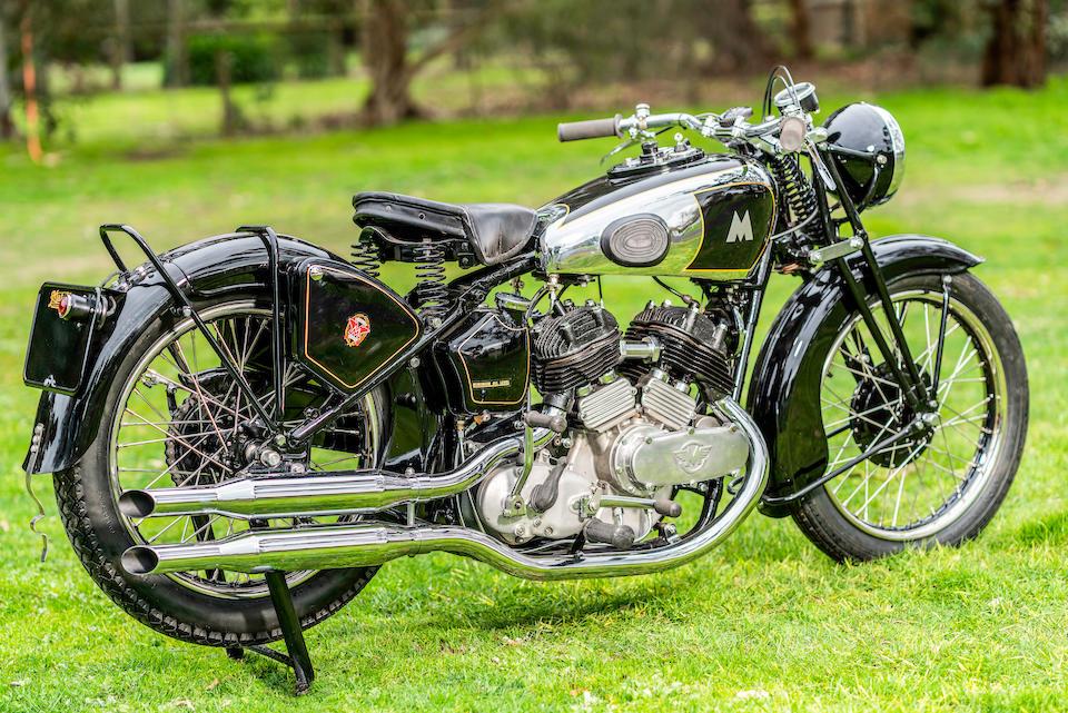 1938 Matchless 982cc Model X Frame no. 651 Engine no. 38/X 5363