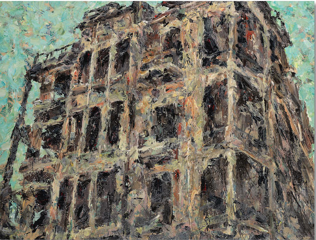 Ayman Baalbaki (Lebanon, born 1975) Untitled (Loss and Destruction)