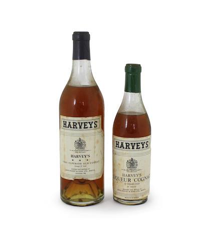 Harvey's Very Superior Old Cognac Harvey's Liqueur Cognac-30 year old (half)