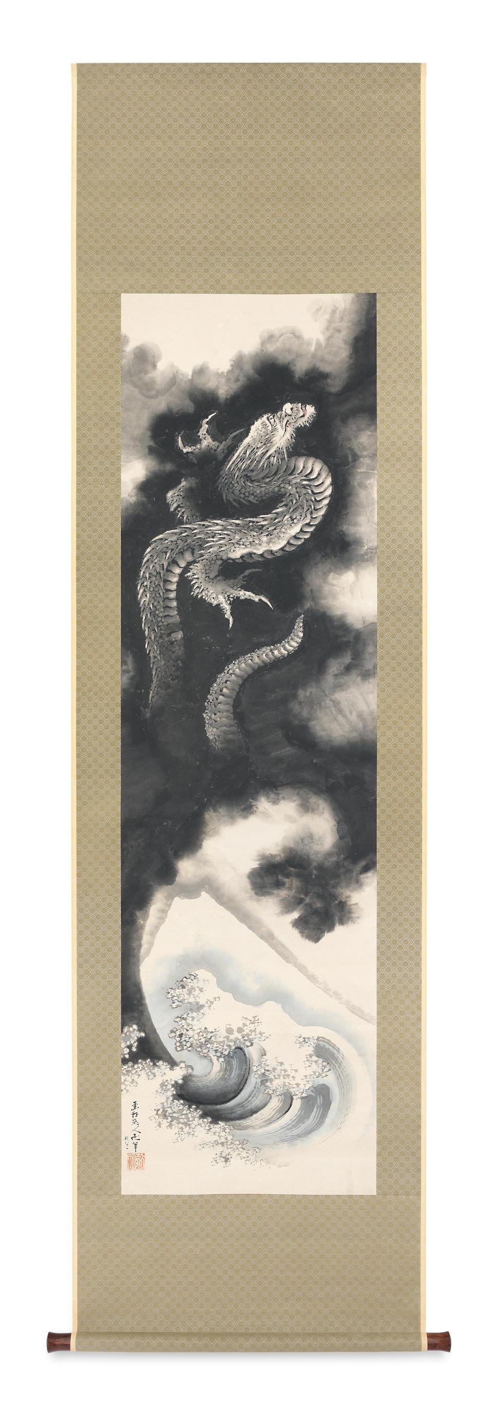 Katsushika Hokusai (1760–1849) Ascending Dragon Edo period (1615-1868), dated 1840 (3)