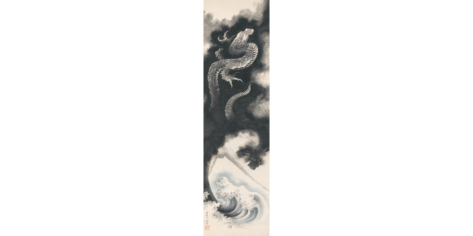 Katsushika Hokusai (1760–1849) Ascending Dragon Edo period (1615-1868), dated 1840 (3)