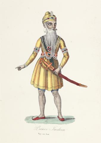 Maharajah Ranjit Singh; an Akali France, mid-19th Century(2)