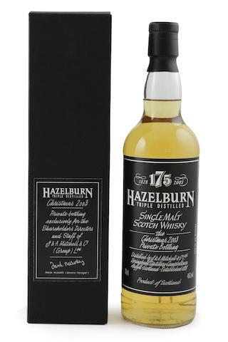 Hazelburn Christmas-2003