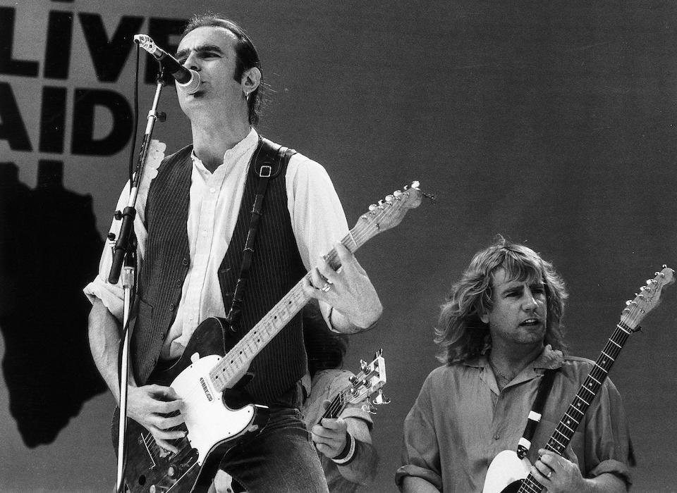 Status Quo: Francis Rossi's legendary green Fender Telecaster guitar, late 1965,