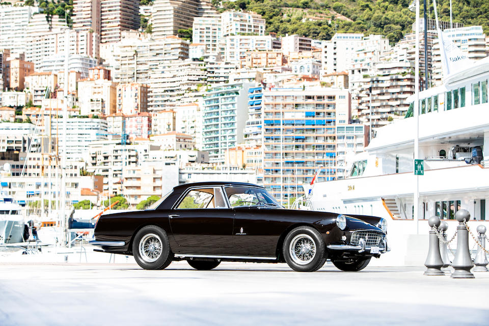 First owned by HRH Prince Charles of Belgium, Count of Flanders,1960 Ferrari 250 GT Series II Coupé  Chassis no. 1823GT