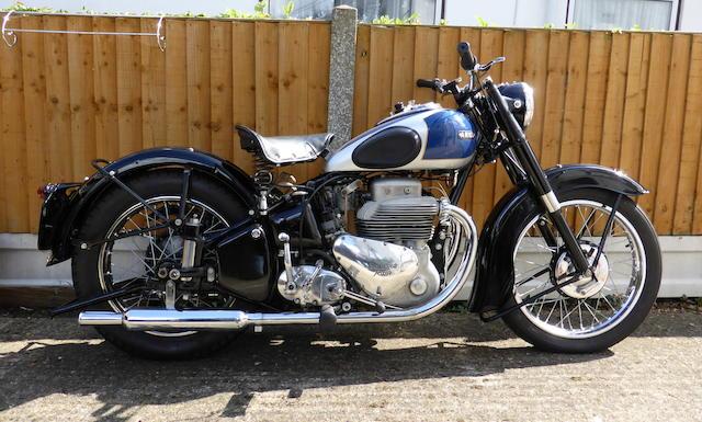 1949 Ariel 998cc Square Four Mark I Frame no. GS528 Engine no. JJ303