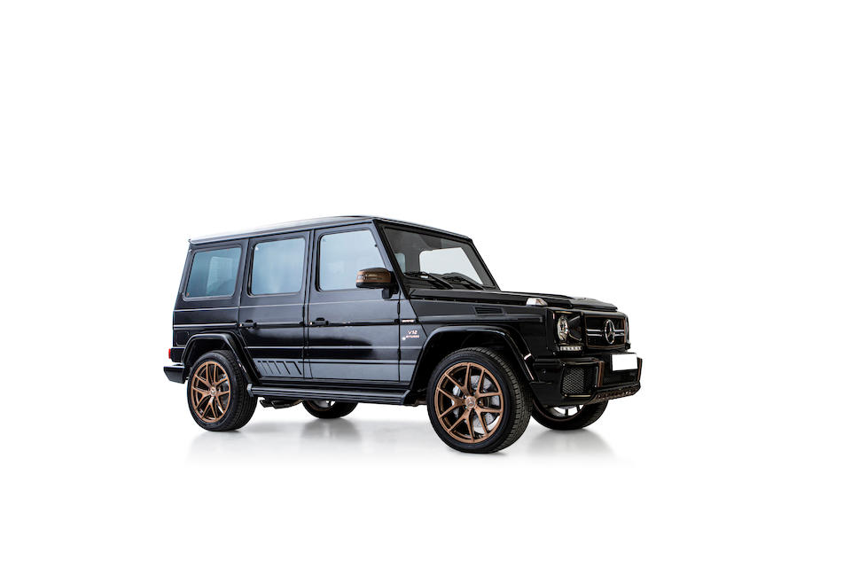 2018 Mercedes-Benz G 65 AMG Final Edition  Chassis no. WDCYC7EF9JX292072