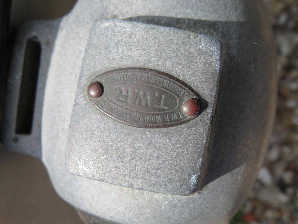 1925 Norton 490cc Model 16H & Swallow Sidecar Frame no. 18226 Engine no. 25662