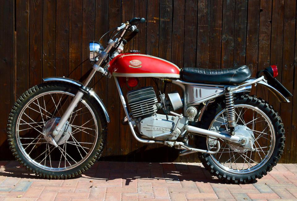 1973 Mondial 125cc Cross Radial MkIII Frame no. 8127870 Engine no. 8127870