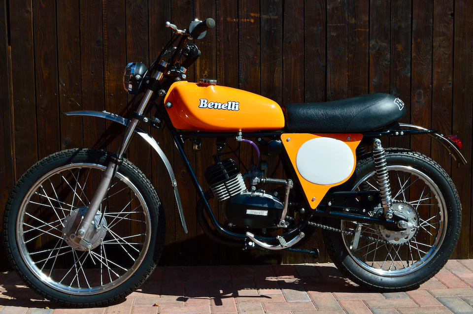 1970 Benelli 50cc Cross Frame no. 908072 Engine no. to be advised