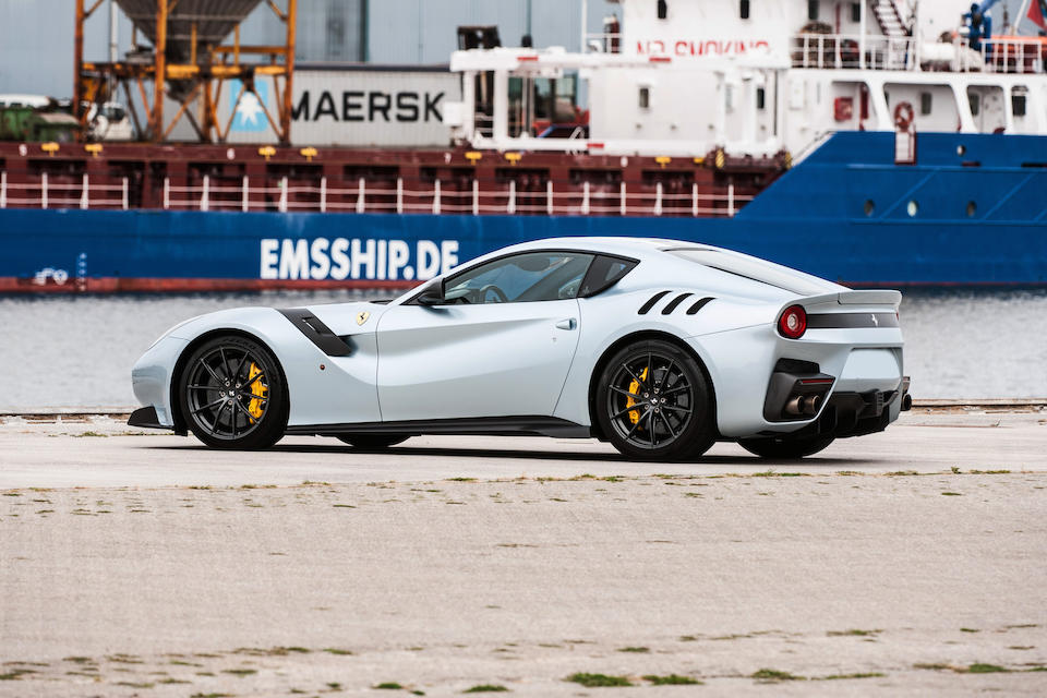 Delivered new to Belgium,2016 Ferrari F12tdf  Chassis no. Chassis no. ZFF81BHB000223160